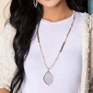 Plunder Shannon Beaded Long Necklace